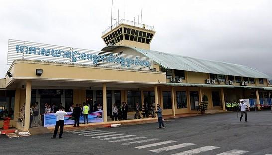 シアヌークビル国際空港、改修終...